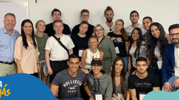Estudiantes de Dinamarca tomaron clases en la Javeriana de Cali