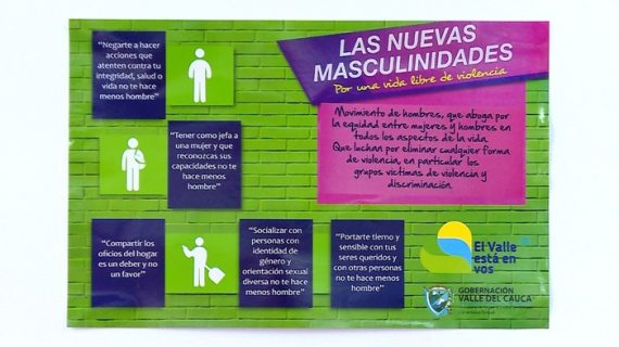 A instituciones educativas, baños públicos y edificios llegarán mensajes de equidad