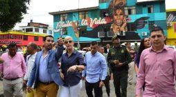 La Alameda de la Salsa vistió las fachadas de coloridos murales, música y alegría