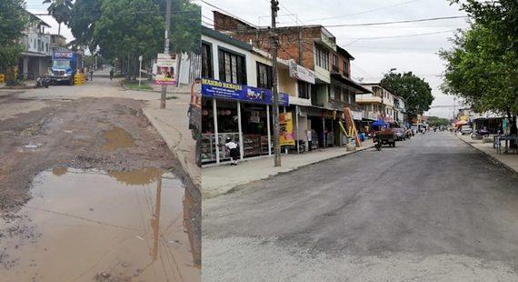 Tropa Bachetón rehabilita más de 3.000 metros cuadrados de tramos viales