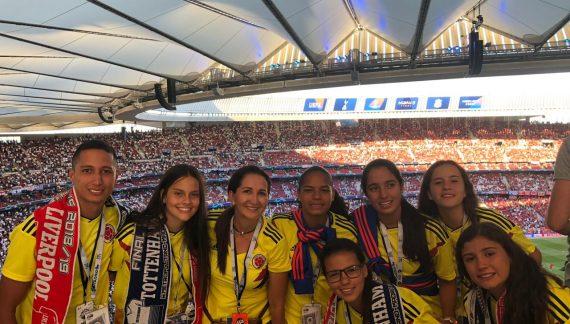 Equipo de fútbol femenino de Colombia se coronó campeón en España