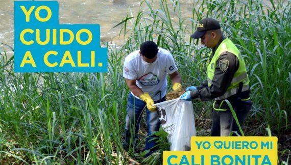 Campaña para limpiar el río Meléndez