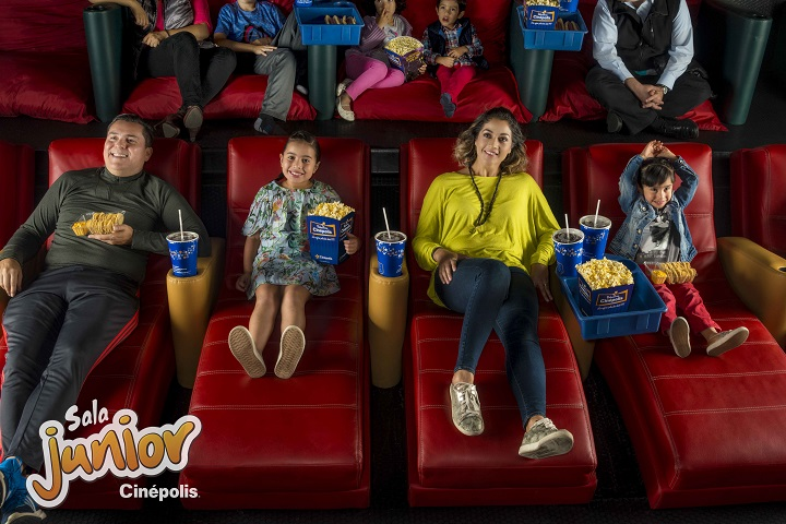 silla de cinema para niños