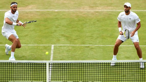 Cabal y Farah a un paso de la final en Wimbledon