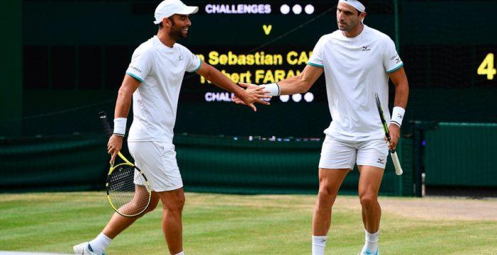 Cabal y Farah a la final en Wimbledon