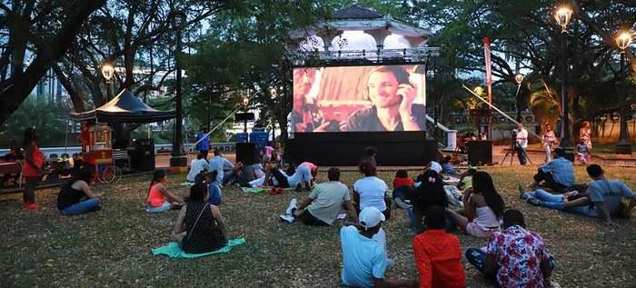 Éxito total de Cine al Parque en su primera jornada