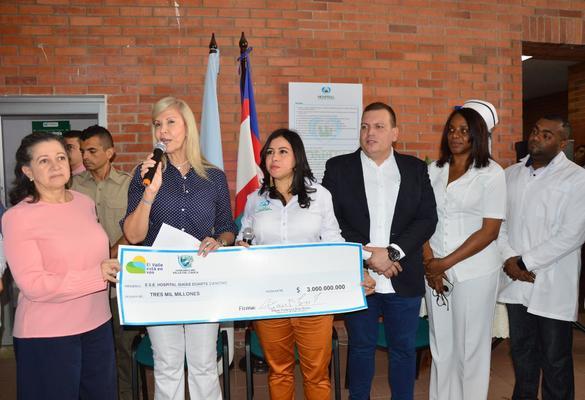 Hospital Isaías Duarte Cancino se fortalece con recursos por $3.950 millones de pesos