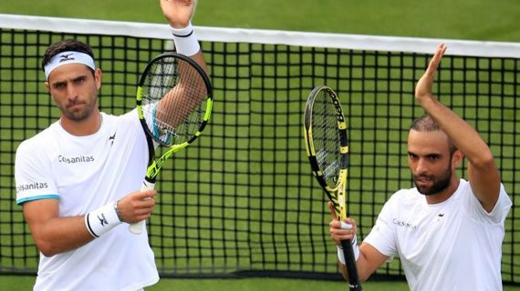 Juan Sebastián Cabal y Robert Farah se estrenan con victoria en Wimbledon