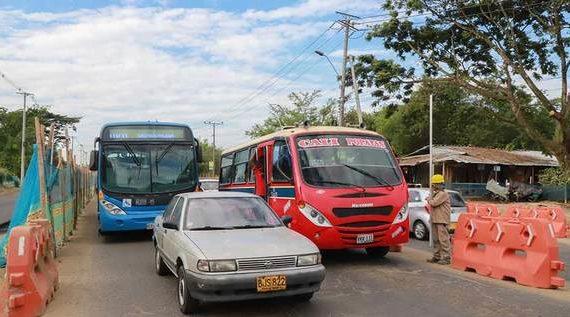 Desvío sobre el río Lili en la Cali – Jamundí quedará listo esta semana
