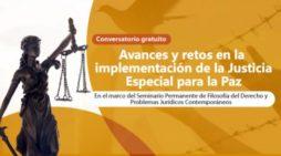 Magistradas de la JEP participarán en conversatorio de la UAO