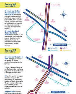 Secretaría de Movilidad activa cambios en giros a la izquierda en el sur de la ciudad