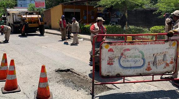 Fue rehabilitado el sector vial aledaño a Ciudadela Petronio