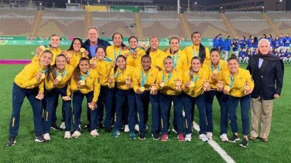 Colombia se llevó el oro en el fútbol femenino en los Panamericanos
