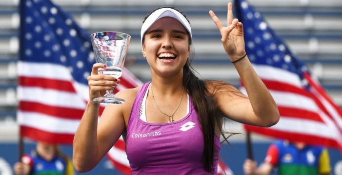 Camila Osorio siguió la racha campeona de Colombia en Tenis