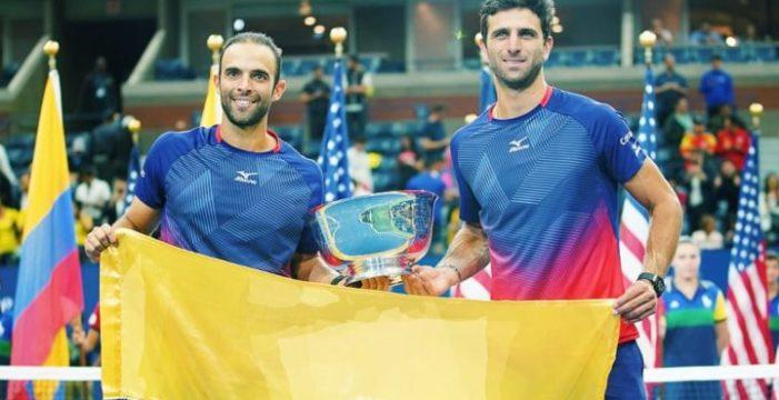 Los vallecaucanos Cabal y Farah en lo más alto del tenis mundial