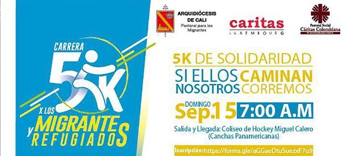Con una carrera 5k se dará inicio a la semana del migrante