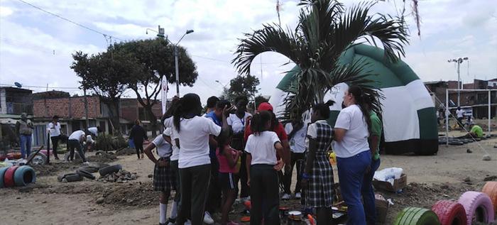Participación Ciudadana apoyó la intervención de parque de la Comuna 14