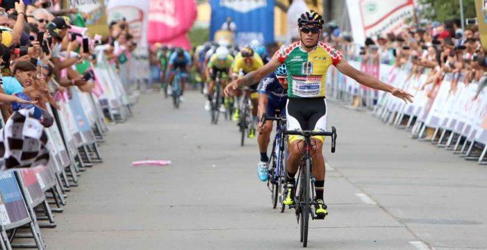 Oscar Quiroz ganó la etapa reina en Buga