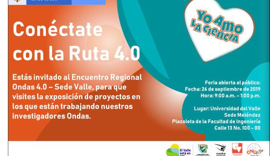 Estudiantes de todo el país participan del Encuentro Regional Ondas 4.0 sede Valle
