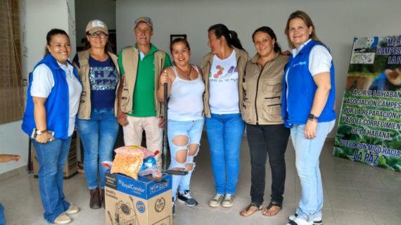 Con insumos agrícolas, 90 familias fortalecen proyecto productivo en La Habana (Valle del Cauca)