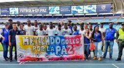Así se vivió la inauguración torneo de fútbol que traerá paz a las comunas en Cali