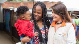La niñez de Pampas del Mirador y Desepaz recibe apoyo humanitario