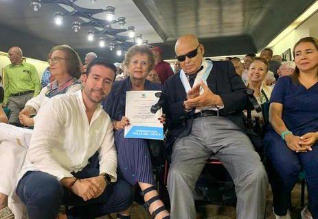 Gobernación del Valle rindió homenaje al médico Ochoa Uribe