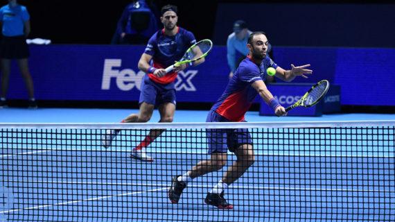 Juan Sebastián Cabal y Robert Farah a semifinales del Torneo de Maestros