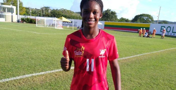 Linda Caicedo, la sensación del fútbol femenino en los Juegos Nacionales
