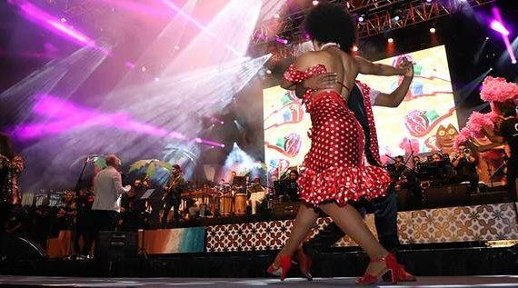 Salsa y folclor, una fusión que se lució en el lanzamiento de la 62 Feria de Cali