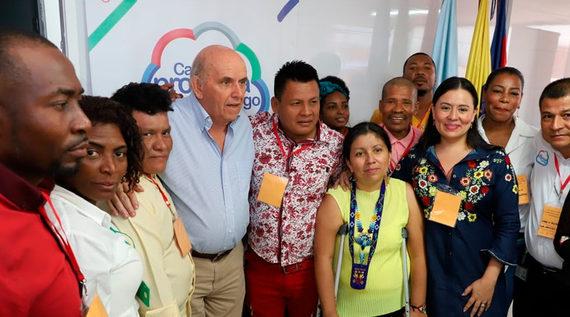 Comunidad wounaan retornará a su territorio gracias al trabajo de la Alcaldía de Santiago de Cali