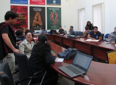 Delegación de Univalle en evento científico en FLACSO, Ecuador
