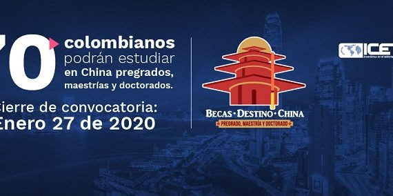 Gobierno nacional dio apertura a la convocatoria de becas para que 70 colombianos estudien en China
