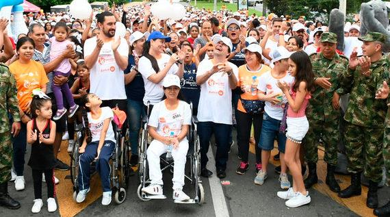 Más de 720 personas corrieron por los sueños de las personas con discapacidad en Cali