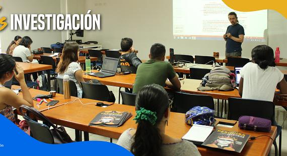 Estudiantes de Biología reciben curso de redacción científica con profesor internacional