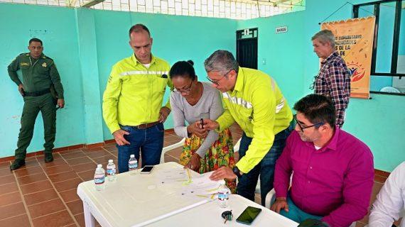 100familias en Yumbo fueron beneficiadas con nueva vía aportada por Argos