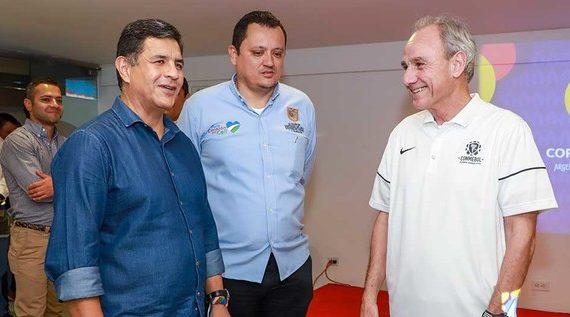 Alcaldía une esfuerzos, voluntades y gestión para realización de la Copa América de Fútbol