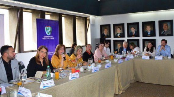 Con gremios y empresarios inició la Gobernadora Clara Luz Roldán los 'Diálogos Vallecaucanos'
