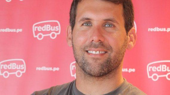 Gerardo Reátegui Schwarz, nuevo gerente de redBus para Latinoamérica