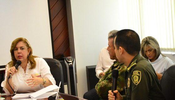 Gobernadora hace llamado a la protesta pacífica y ordena brindar garantías para el paro de este martes