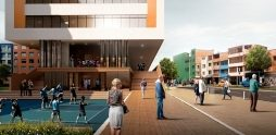 Segundo lugar en concurso público de arquitectura