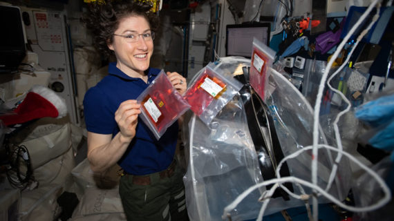 Christina Koch bate el récord de permanencia Femenino en el espacio