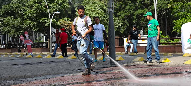 Jornada de limpieza afianzó el compromiso de la ciudadanía caleña