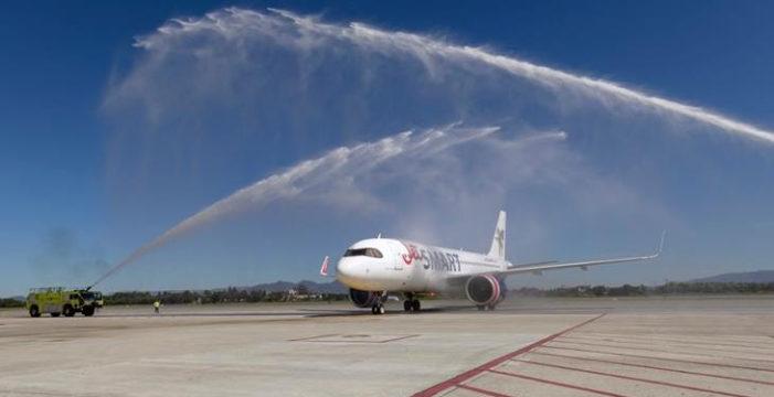 JetSMART inició sus vuelos directos entre Bogotá y Santiago de Chile