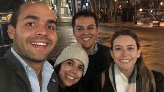 Egresados de Icesi participaron en cumbre de líderes globales en Londres