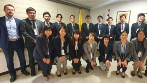Expertos japoneses se capacitan en Colombia en calidad de cafés suaves