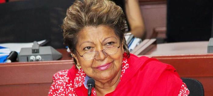 Gabinete Municipal mostró su pesar por el fallecimiento de Clementina Vélez
