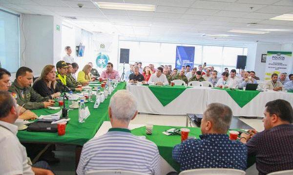 Gobernación del Valle propone a empresas privadas de seguridad sumarse a la estrategia de seguridad regional.