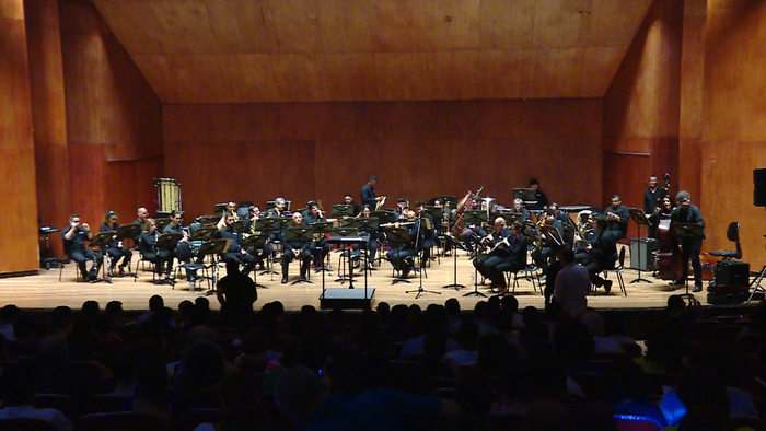 Lleno total en apertura de los conciertos de gala de la Banda Departamental