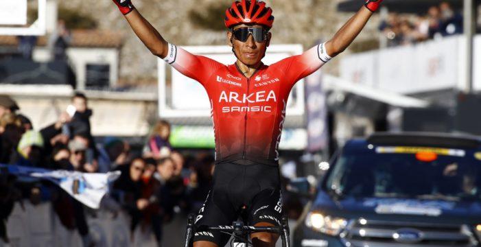 Contundente triunfo de Nairo Quintana en Francia